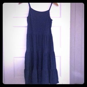 Long loose fitting navy